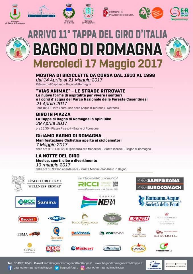 Bagno di Romagna Città di Tappa del 100° Giro d\'Italia - EventiOggi